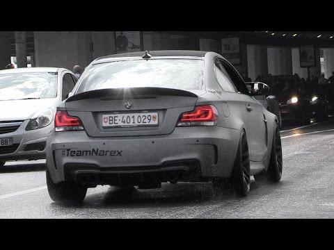 Смотреть This Tuned BMW 1M Has a Machine Gun In The Exhaust!! CRAZY Backfires & Crackles онлайн