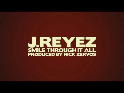 J-REYEZ - SMILE THROUGH IT ALL (Typography Animation)