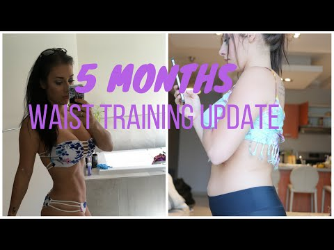 5e827b415b3 Waist Training with Alt-Noir Corsets - 30 Day Journey - YouTube