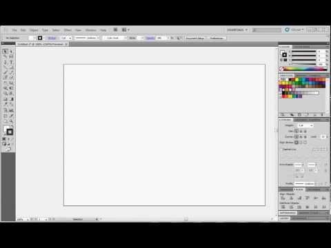 Adobe illustrator (CS5) tutorial Introduction PART 1