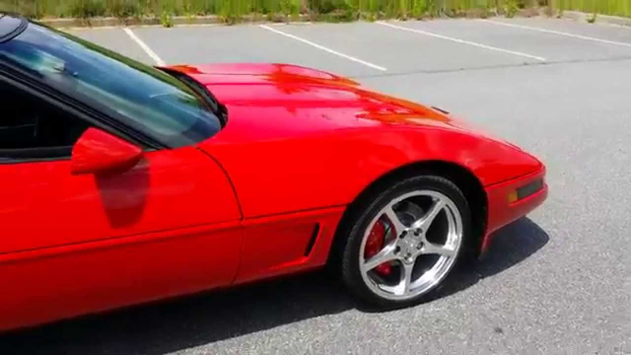 C4 Corvette New Paint Job Walk Around 1440p Ultra Hd