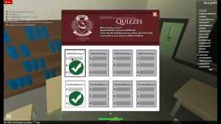Roblox University Answers (Part 1)