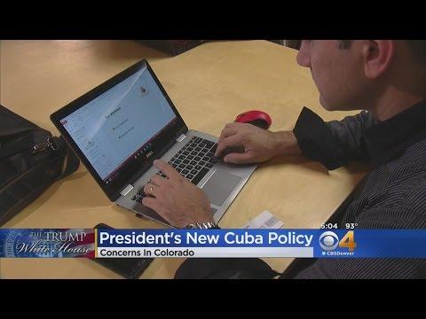 Colorado Businesses React To Pres. Trump's Cuba Policy