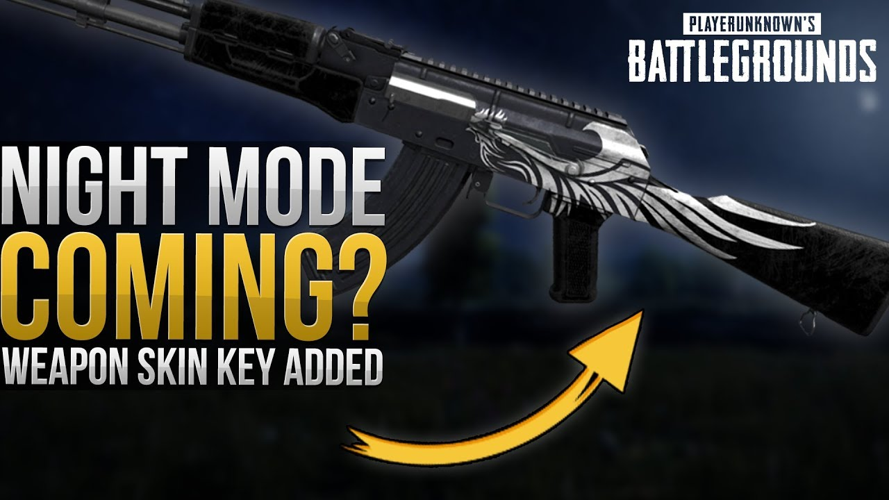 All Pubg Weapons Skins How To Get Them: Weapon Skin Key Added