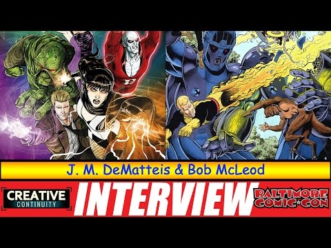 Justice League Dark: J. M. DeMatteis and Bob McLeod - S1E29 Creative Continuity