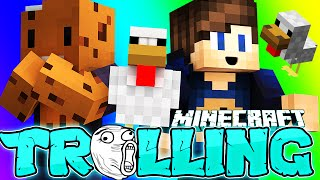 Minecraft - Trolling /w ProBoss - Oamenii se bat cu GAINI & Adminii primesc Remove!  Super Tare!
