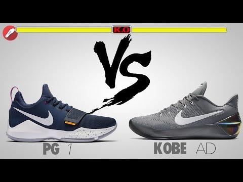 Nike PG 1 vs Kobe A.D!