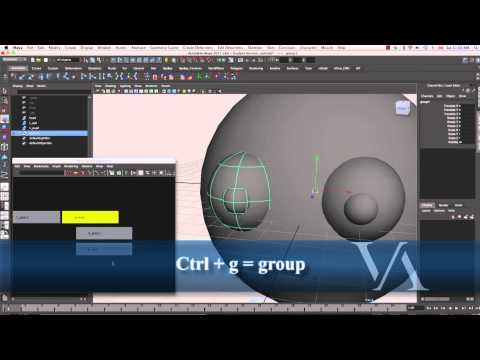 Part 5: Maya for Animators free course - Hierarchies and Groups