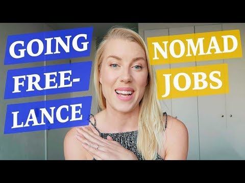Digital Nomad Jobs - GO FREELANCE ♡ 50 Job Ideas Part 2