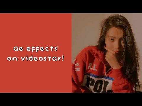 ae effects on videostar