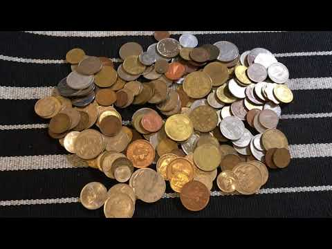 Giant Bag Of Foreign Coins Given To You! From Silver Hammer