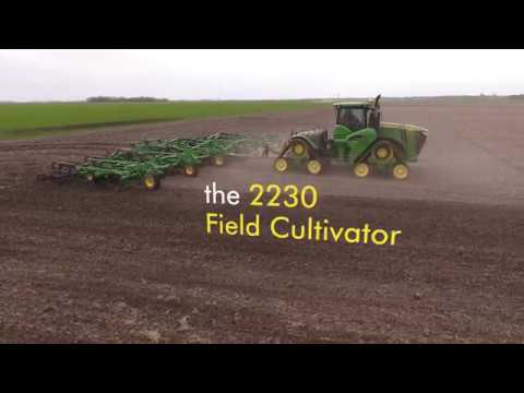 In the Field with the New John Deere 2230 Field Cultivator