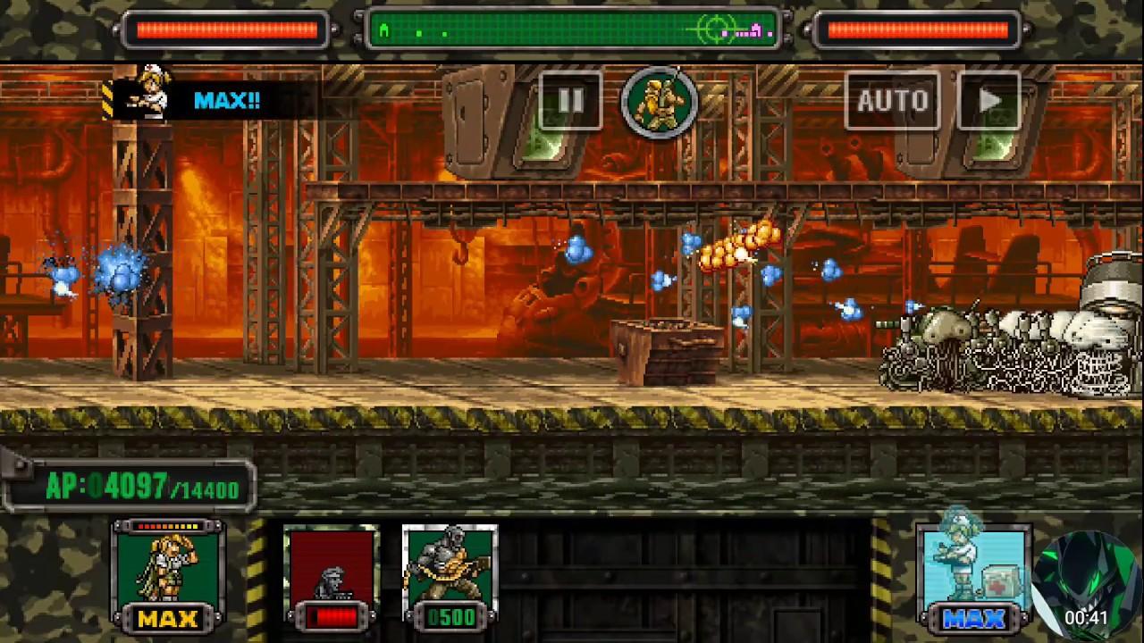 Metal Slug Attack - Pocket Marco Gameplay - YouTube