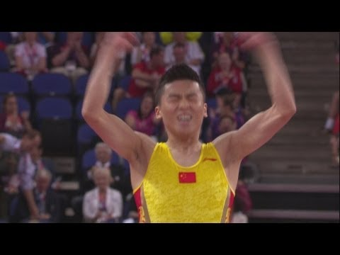 Dong wins Men's Trampoline Gold - London 2012 Olympics