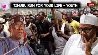 TINUBU ATTCKED AGIN BY YOUTH AFTER TERKLING YORUBA NATION FOR RE