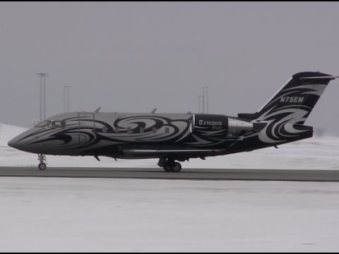 Private Jet with Awesome Livery - Landing