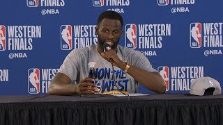 Draymond Green postgame reaction | Warriors vs Blazers Game 4 | 2019 NBA Playoffs