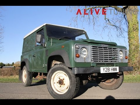 Alive Tuned Defender 90 Td5 - Stage Four Power Package