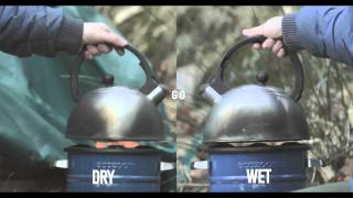 Woodfuel Wales - Burning Wet Wood vs. Dry Wood