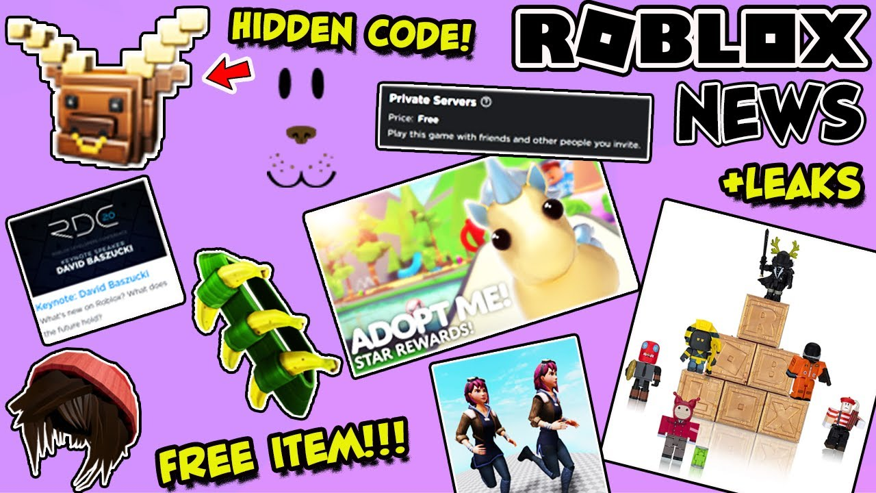 Roblox Tem Roblox News Free Item Free Servers Hidden Code New Leaks Updates Events Status More Youtube