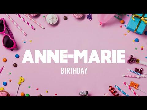 Anne-Marie - Birthday (Lyrics) indir