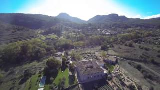 Aerial video of Sa Vinya an amazing manor house in Puigpunyent Mallorca Ref 4413