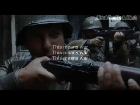 This Means WAR 4 Video remix by Avenged SevenFold with Effects and Lyrics