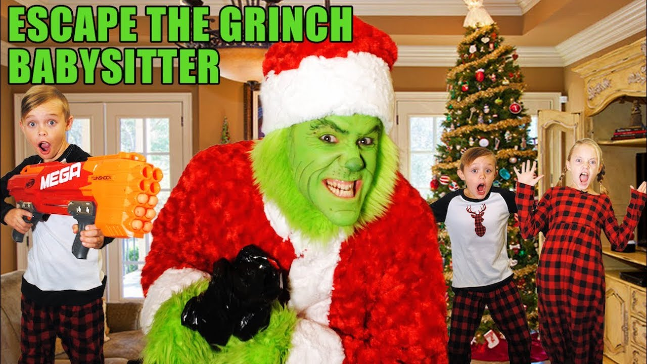 Download Escape the Babysitter to Save Christmas! The Grinch Babysitter Showdown!