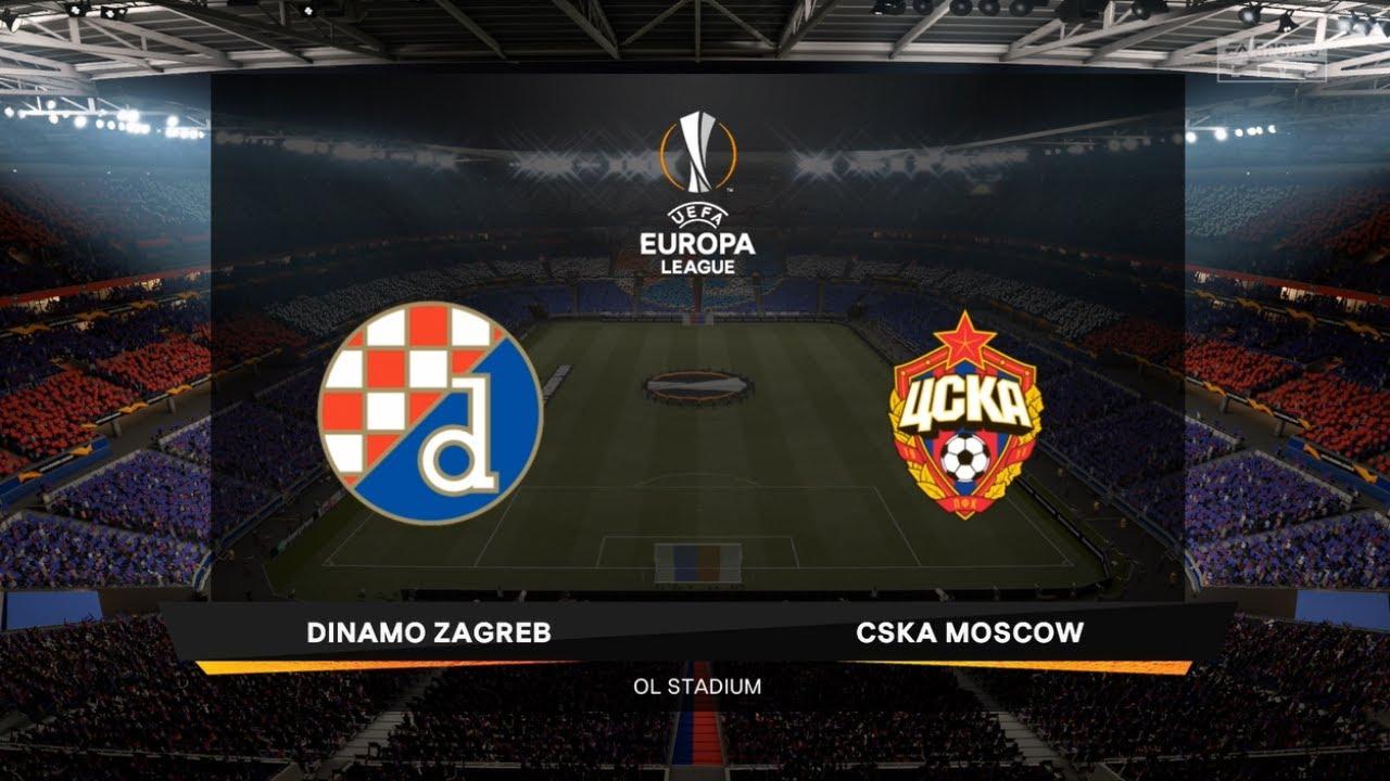 Dinamo Zagreb Vs Cska Moscow Uefa Europa League 10 December 2020 Prediction Youtube