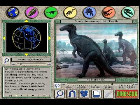 """3D Dinosaur Adventure """"Edmontosaurus: 1001 Teeth"""" Page"""