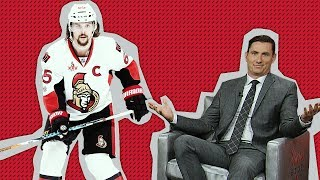 """Mike Johnson thinks Erik Karlsson is gone from Ottawa """"for sure"""""""