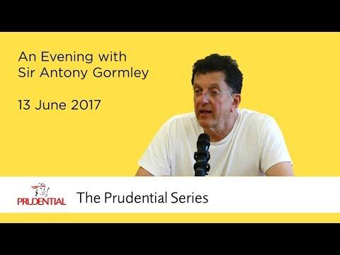 An Evening with Sir Antony Gormley