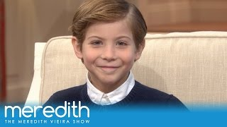 jacob tremblays first talk show interview the meredith vieira show