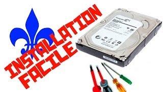Comment Installer un Disque Dur Interne (HDD) (seagate) [QC- FR]