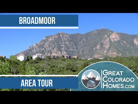 Broadmoor in Colorado Springs, CO | Area Tour