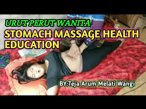 Massage women is name Septi Lintang