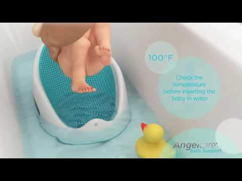 Baby Bath Support   AngelCare Canada HD, 720p1