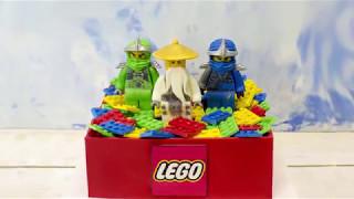 Торт Лего Ниндзяго (Кусочек счастья)