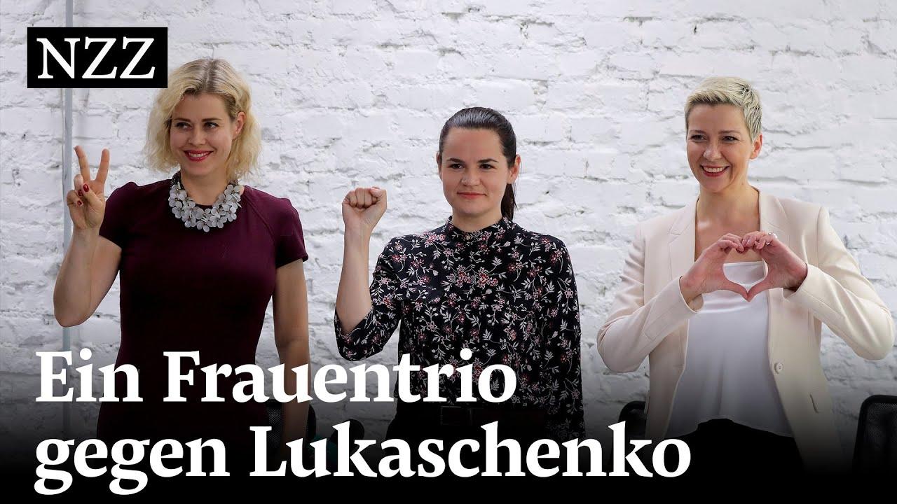 Weissrussland: Drei Frauen fordern den «letzten Diktators Europas» heraus