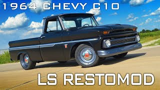 V8 Speed & Resto Shop Restored 1964 Chevrolet C-10 Feature Video V8TV