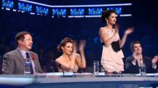 Rebecca Ferguson Sings Amazing Grace - The X Factor Live Semi-final  Full Versio