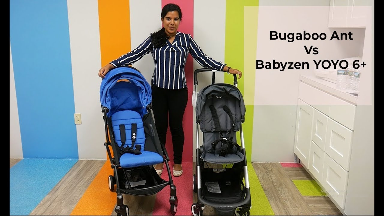 Compare the Bugaboo Ant Vs BabyZen YOYO 6+ Comparison ...