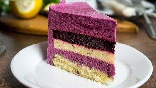 Муссовый торт Свежесть  Ягодная бомба