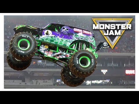 2018 Monster Jam highlights Indianapolis Indiana