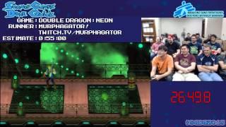 Double Dragon Neon - Speed Run in 0:43:37 [PSN] by Murphagator! #SGDQ 2013