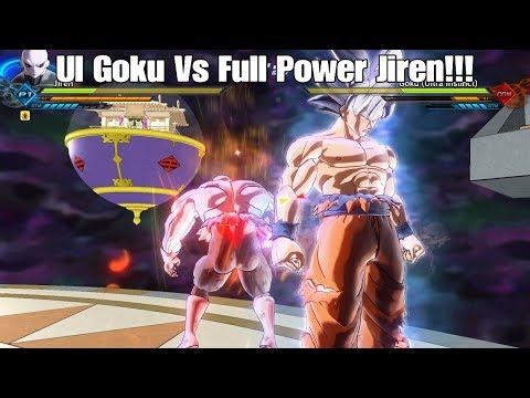 Xenoverse 2 Full Power Jiren Vs. Mastered Ultra Instinct Goku! Xenoverse 2 Modded Showcase!