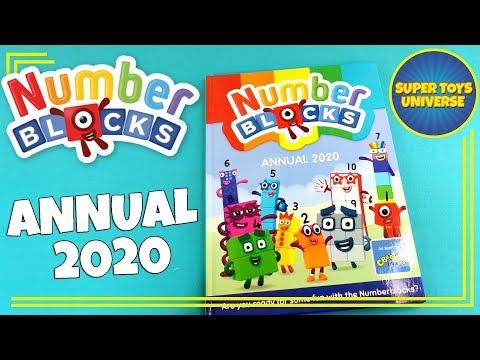 Numberblocks Annual 2020 | NEW NUMBERBLOCKS MERCHANDISE!!