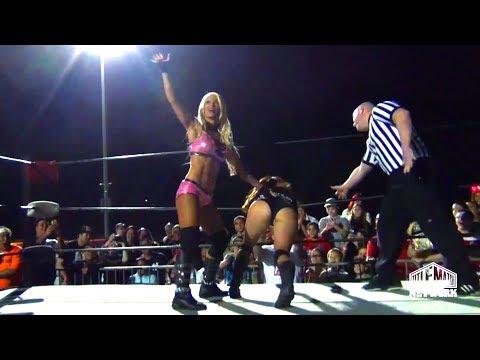 Maria Kanellis vs Angelina Love (Women's Wrestling)