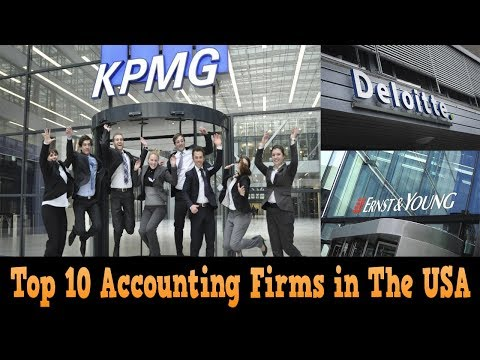 Top 10 Accounting Firms in The USA 2017 - 2018 NEW | best accounting firms to work for in usa