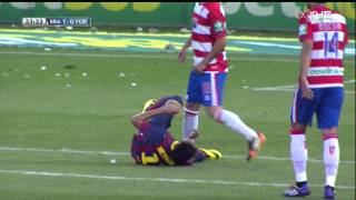 Granada - Barcelona Highlights HD 12.04.2014